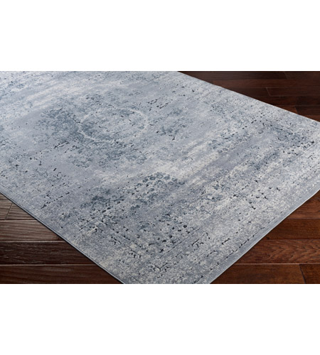 41ELIZABETH 51799-MG Ademaro 35 X 24 inch Medium Gray/Khaki/Charcoal/Black Rugs, Polypropylene and Chenille dur1002_corner.jpg