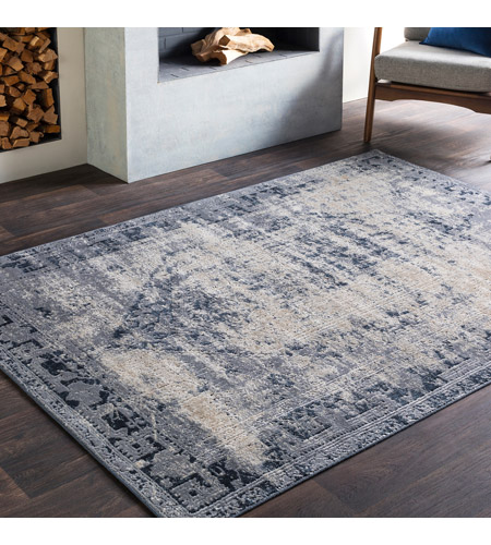 41ELIZABETH 51825-MG Ademaro 87 X 63 inch Medium Gray/Charcoal/Ink/Khaki/Beige Rugs, Polypropylene and Chenille dur1009-roomscene_201.jpg