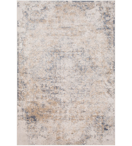 41ELIZABETH 51840-TG Ademaro 87 X 63 inch Taupe/White/Medium Gray Rugs, Rectangle