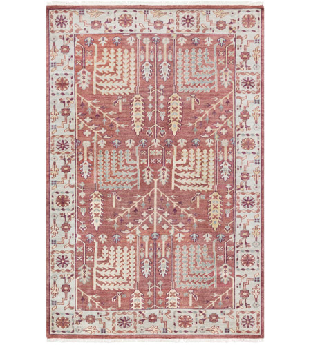 41ELIZABETH 52340-CF Ace 156 X 108 inch Clay/Burgundy/Khaki/Sea Foam/Butter/Tan Rugs, Wool