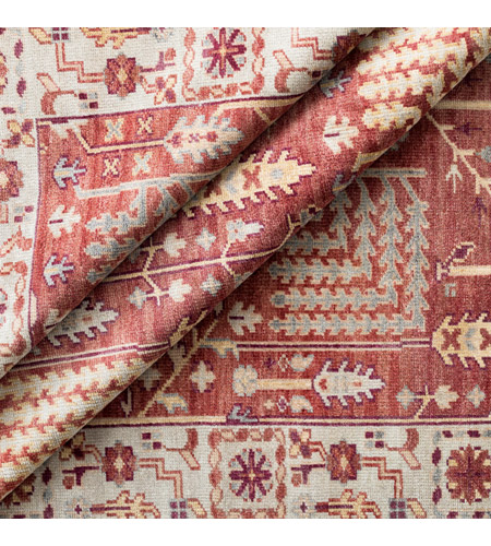 41ELIZABETH 52340-CF Ace 156 X 108 inch Clay/Burgundy/Khaki/Sea Foam/Butter/Tan Rugs, Wool exi1005-styleshot_201.jpg