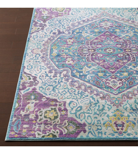 41ELIZABETH 52495-BP Ayland 94 X 34 inch Bright Purple/Pale Blue/Teal/Lime/Dark Green/Camel Rugs, Polyester ger2304-front.jpg