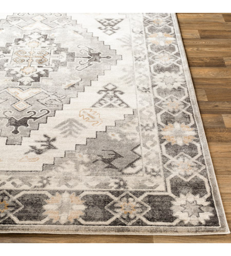 41ELIZABETH 53625-CG Alton 87 X 63 inch Charcoal/Medium Gray/Black/Tan/Beige/White Rugs igo2311-front.jpg