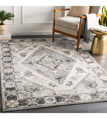 41ELIZABETH 53625-CG Alton 87 X 63 inch Charcoal/Medium Gray/Black/Tan/Beige/White Rugs igo2311-roomscene_201.jpg