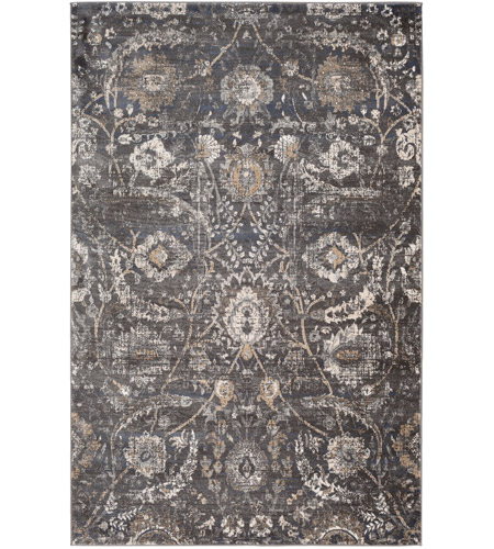 41ELIZABETH 53648-B Alton 35 X 24 inch Black/Charcoal/Tan/Beige/White Rugs