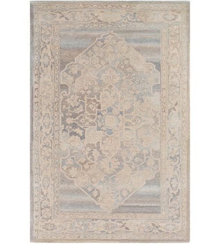 41ELIZABETH 54870-DB Avis 36 X 24 inch Dark Brown/Khaki/Medium Gray/Charcoal Rugs, Rectangle