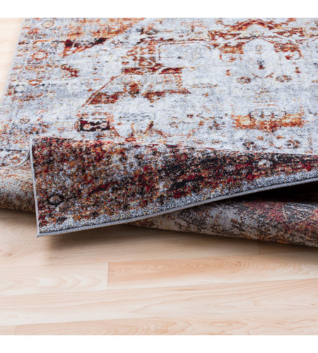 41ELIZABETH 57494-DR Brandon 35 X 24 inch Dark Red/Ivory/Black/Bright Orange/Medium Gray Rugs, Polypropylene srp1010-fold.jpg