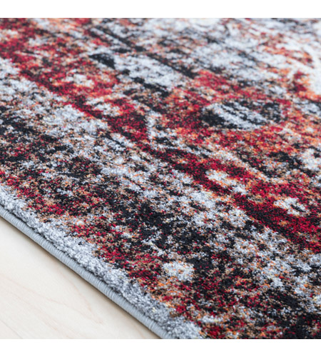 41ELIZABETH 57494-DR Brandon 35 X 24 inch Dark Red/Ivory/Black/Bright Orange/Medium Gray Rugs, Polypropylene srp1010-texture.jpg