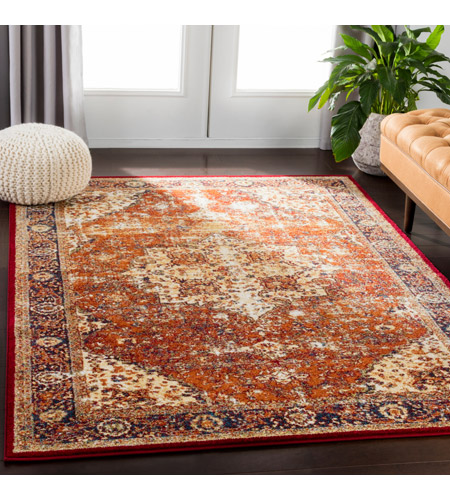 41ELIZABETH 57532-BO Brandon 87 X 63 inch Bright Orange/Dark Red/Bright Yellow/Ivory Rugs, Rectangle srp1019-roomscene_201.jpg