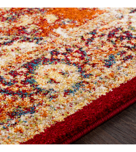 41ELIZABETH 57532-BO Brandon 87 X 63 inch Bright Orange/Dark Red/Bright Yellow/Ivory Rugs, Rectangle srp1019-texture.jpg