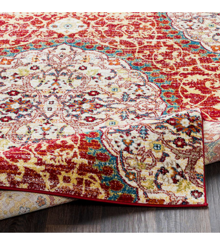 41ELIZABETH 57546-DR Brandon 87 X 63 inch Dark Red/Bright Orange/Ivory/Bright Yellow Rugs, Rectangle srp1021-fold.jpg