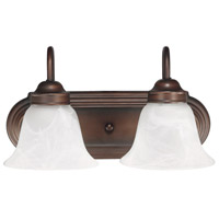 Burnished Bronze Urban Bathroom Vanity Lights