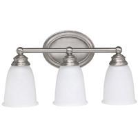 41 Elizabeth 46455-MNAW Booker 3 Light 17 inch Matte Nickel Vanity Wall Light