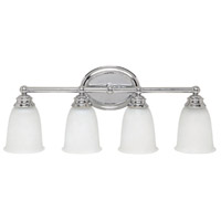 41ELIZABETH 46456-CAW Booker 4 Light 24 inch Chrome Vanity Wall Light