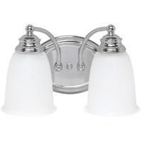 41 Elizabeth 46458-CAW Booker 2 Light 13 inch Chrome Vanity Wall Light