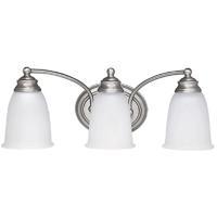 41 Elizabeth 46461-MNAW Booker 3 Light 20 inch Matte Nickel Vanity Wall Light