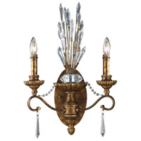 41ELIZABETH 46851-SBC Rider 2 Light 15 inch Spanish Bronze Sconce Wall Light