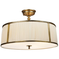 41 Elizabeth 40137-VBO Carisa 4 Light 20 inch Vintage Brass Patina Semi Flush Mount Ceiling Light in Incandescent
