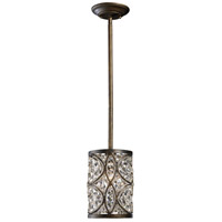 41 Elizabeth 46854-ABC Mercedes 1 Light 6 inch Antique Bronze Mini Pendant Ceiling Light