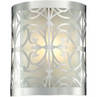 41ELIZABETH 46867-PC Esdras 1 Light 8 inch Polished Chrome Vanity Light Wall Light