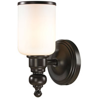 41 Elizabeth 40145-OROW Parker 1 Light 6 inch Oil Rubbed Bronze Vanity Light Wall Light in Incandescent