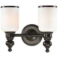 41 Elizabeth 40147-OROW Parker 2 Light 13 inch Oil Rubbed Bronze Vanity Light Wall Light in Incandescent