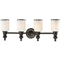 41 Elizabeth 40151-OROW Parker 4 Light 29 inch Oil Rubbed Bronze Vanity Light Wall Light in Incandescent