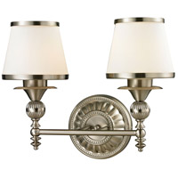 41ELIZABETH 46888-BNOW Haywood 2 Light 16 inch Brushed Nickel Vanity Light Wall Light in Incandescent