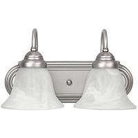 41 Elizabeth 46462-MNFW Booker 2 Light 14 inch Matte Nickel Vanity Wall Light