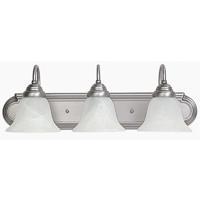 41 Elizabeth 46463-MNFW Booker 3 Light 24 inch Matte Nickel Vanity Wall Light