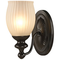 41ELIZABETH 46899-ORR Daisy 1 Light 8 inch Oil Rubbed Bronze Vanity Light Wall Light in Incandescent