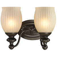 41ELIZABETH 46901-ORR Daisy 2 Light 11 inch Oil Rubbed Bronze Vanity Light Wall Light in Incandescent