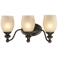 41ELIZABETH 46903-ORR Daisy 3 Light 19 inch Oil Rubbed Bronze Vanity Light Wall Light in Incandescent