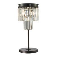 41ELIZABETH 46164-OR Adalgiso 22 inch 60 watt Oil Rubbed Bronze Table Lamp Portable Light