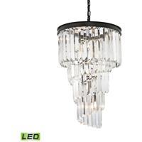 41 Elizabeth 47028-ORCL Farrell LED 16 inch Oil Rubbed Bronze Chandelier Ceiling Light