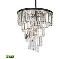 41 Elizabeth 47030-ORCL Farrell LED 26 inch Oil Rubbed Bronze Chandelier Ceiling Light