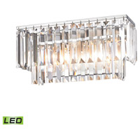 41 Elizabeth 40161-PCCL Farrell LED 15 inch Polished Chrome Vanity Light Wall Light