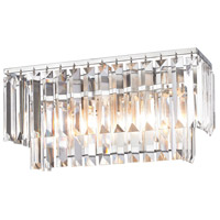 41 Elizabeth 40160-PCC Farrell 2 Light 15 inch Polished Chrome Vanity Light Wall Light in Incandescent