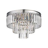41ELIZABETH 46973-PCC Farrell 3 Light 19 inch Polished Chrome Semi Flush Mount Ceiling Light in Incandescent