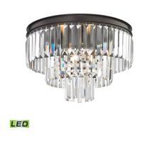 41 Elizabeth 46987-ORCL Farrell LED 19 inch Oil Rubbed Bronze Semi Flush Mount Ceiling Light