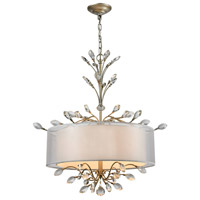 41 Elizabeth 40181-AS Tracy 4 Light 26 inch Aged Silver Chandelier Ceiling Light in Incandescent