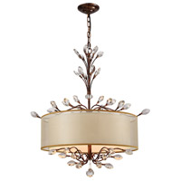 41ELIZABETH 40185-SB Tracy 4 Light 26 inch Spanish Bronze Chandelier Ceiling Light in Incandescent