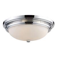 41 Elizabeth 47056-PCOW Solita 3 Light 16 inch Polished Chrome Flush Mount Ceiling Light