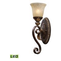 41ELIZABETH 47058-BBOL Halsey LED 6 inch Burnt Bronze Sconce Wall Light