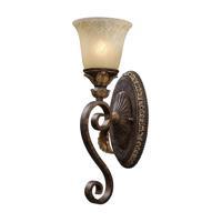 41ELIZABETH 47057-BBO Halsey 1 Light 6 inch Burnt Bronze Sconce Wall Light in Incandescent
