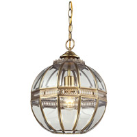 41 Elizabeth 40056-BBC Delight 1 Light 12 inch Brushed Brass Mini Pendant Ceiling Light