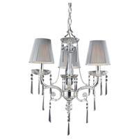 41ELIZABETH 47072-PSIG Pax 3 Light 20 inch Polished Silver Chandelier Ceiling Light