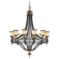 41ELIZABETH 47079-ABM Todd 12 Light 48 inch Antique Bronze/Dark Umber Chandelier Ceiling Light in Incandescent