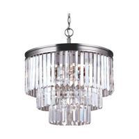 41 Elizabeth 40601-ABPG Kyle 4 Light 18 inch Antique Brushed Nickel Chandelier Ceiling Light