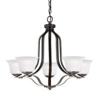 41 Elizabeth 41068-HBSE Hilton 5 Light 24 inch Heirloom Bronze Chandelier Ceiling Light